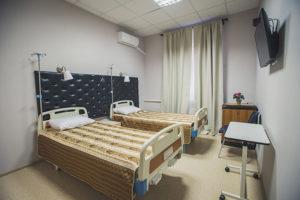 Палата в клинике Преображение