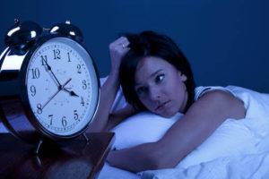 Трудность засыпания